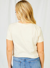 Open Mind Kind Heart Cropped Tee Detail 3 - Altar'd State