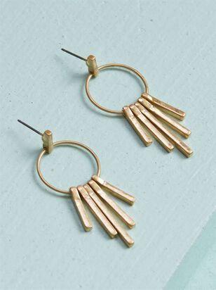 On the Fringe Earrings - Altar'd State