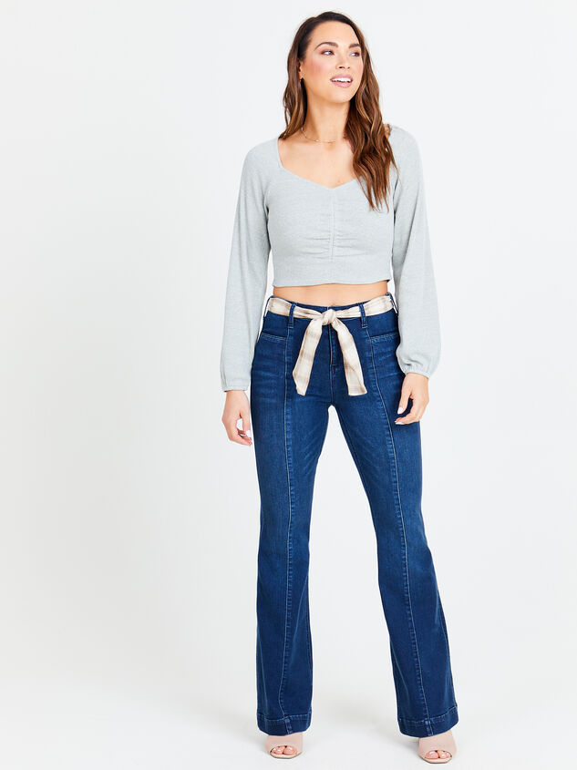 Maysen Flare Jeans Detail 4 - Altar'd State