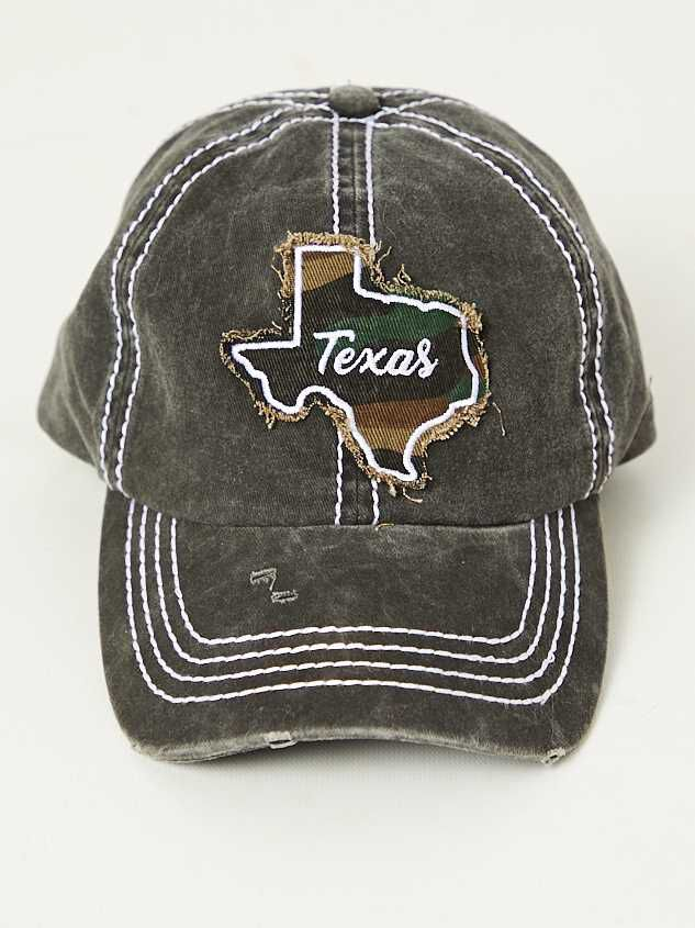 Texas Camo Baseball Hat - Altar'd State