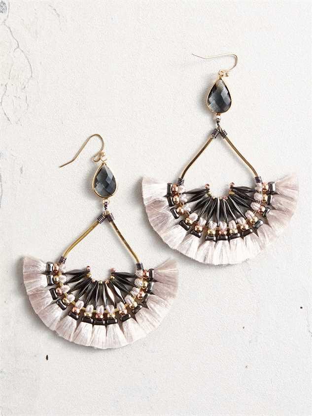 Wexa Tassel Earrings - Altar'd State
