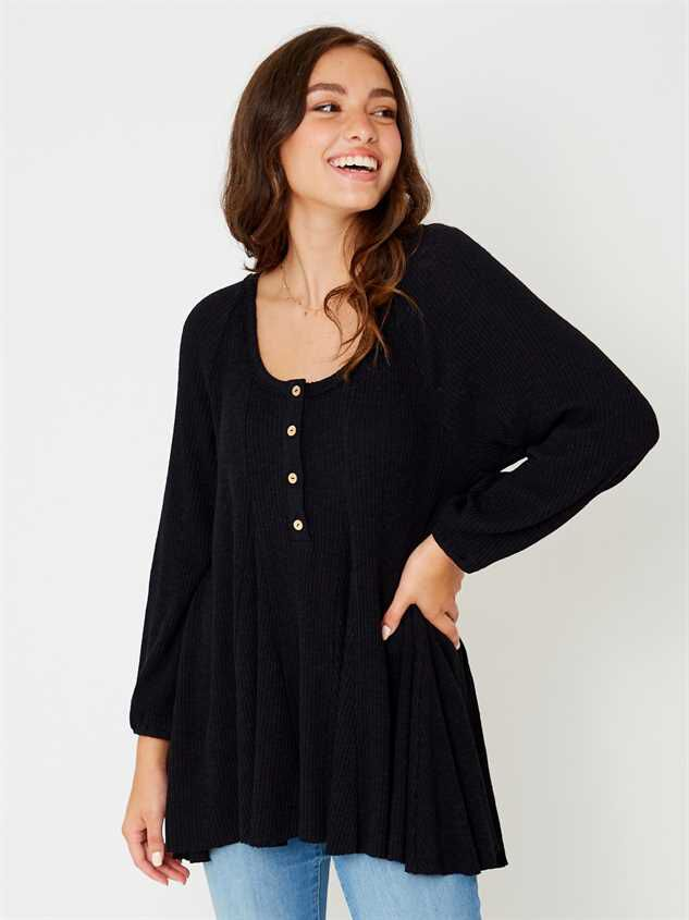 Lana Henley Tunic Top - Altar'd State