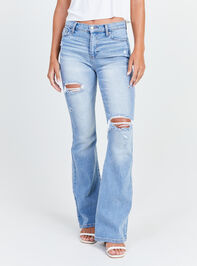 Galveston Flare Jeans Detail 2 - Altar'd State