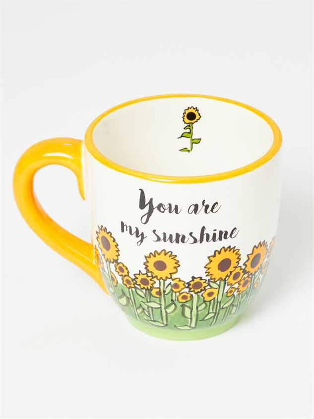 Sunshine Sunflower Mug Detail 2 - Altar'd State