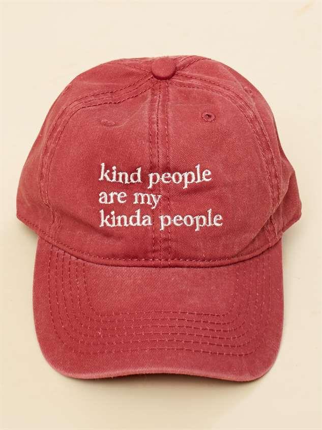 Kind People Baseball Hat - Altar'd State
