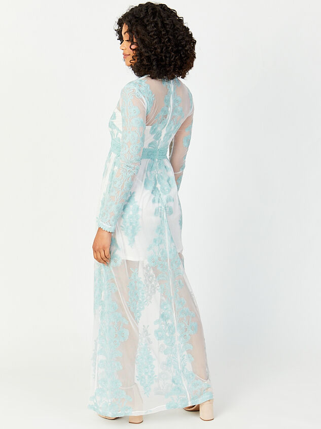 Norrie Maxi Dress Detail 3 - Altar'd State