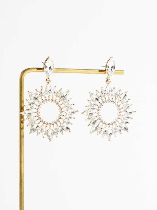 Georgia Crystal Earrings - Altar'd State
