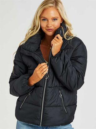 Woodbury Puffer Jacket - Altar'd State