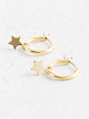 Starlight Mini Hoop Earrings - Altar'd State