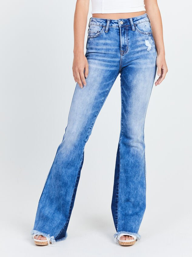 Katy Flare Jeans Detail 2 - Altar'd State