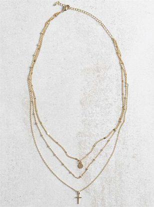 Roman Necklace - Altar'd State