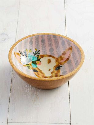 Floral Cow Bowl - Altar'd State