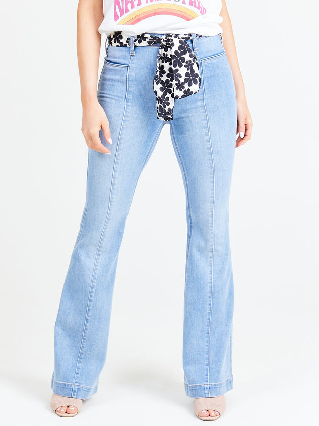 Maysen Flare Jeans Detail 1 - Altar'd State