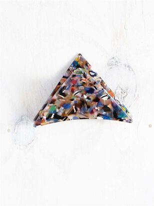 Acetate Triangular Claw Clip - Multi - Altar'd State
