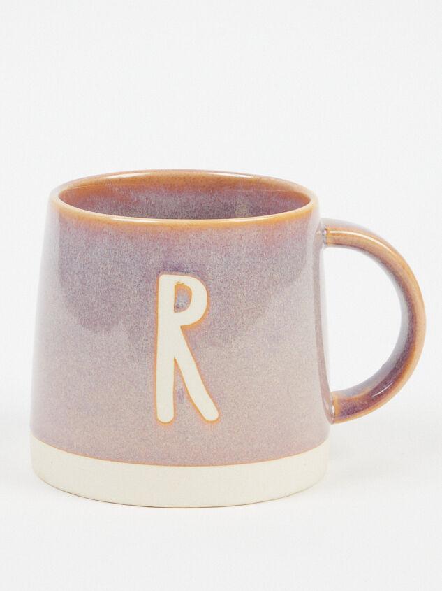Glazed Monogram Mug - R - Altar'd State