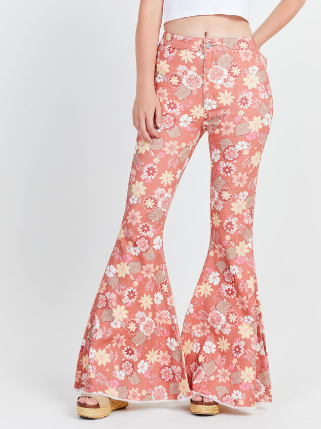 Cindy Retro Flare Jeans Detail 2 - Altar'd State