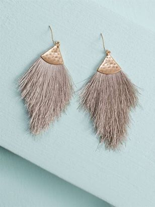 Feathered Earrings - Altar'd State