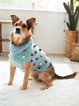 Bear & Ollie's Dog Pom Pom Sweater - Altar'd State