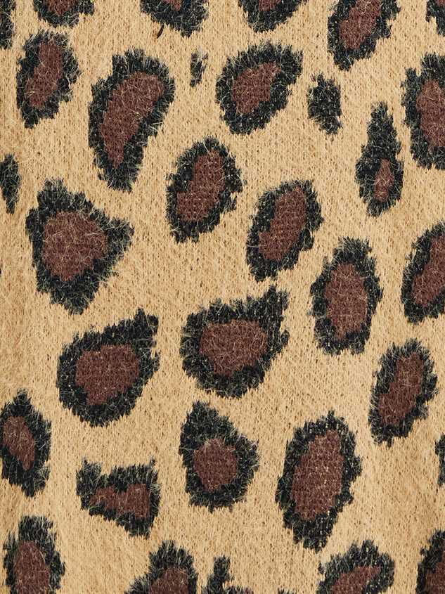 Leopard Pullover Sweater Detail 5 - Altar'd State
