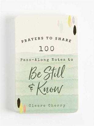 Prayers to Share to Be Still and Know - Altar'd State