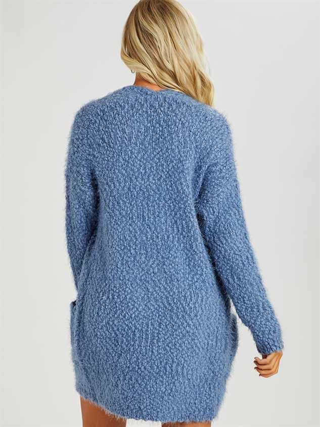 Eyelash Cardigan Sweater Detail 3 - Altar'd State
