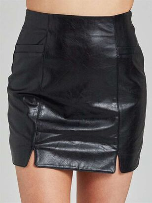 Just Leather Be Skirt - Altar'd State