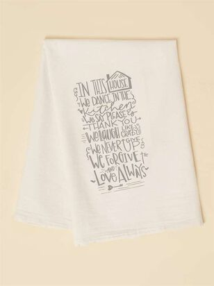 In This House Hand Towel - Altar'd State