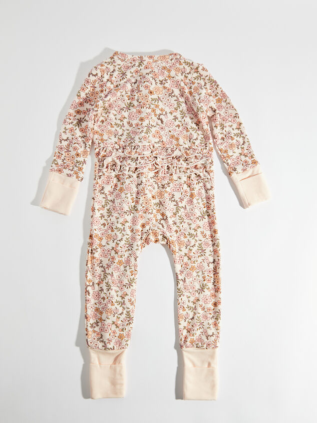 Tullabee Calico Floral Romper Detail 2 - Altar'd State