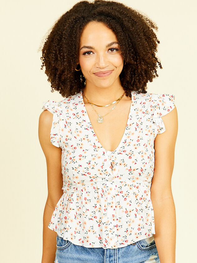 Rosia Floral Top - Altar'd State