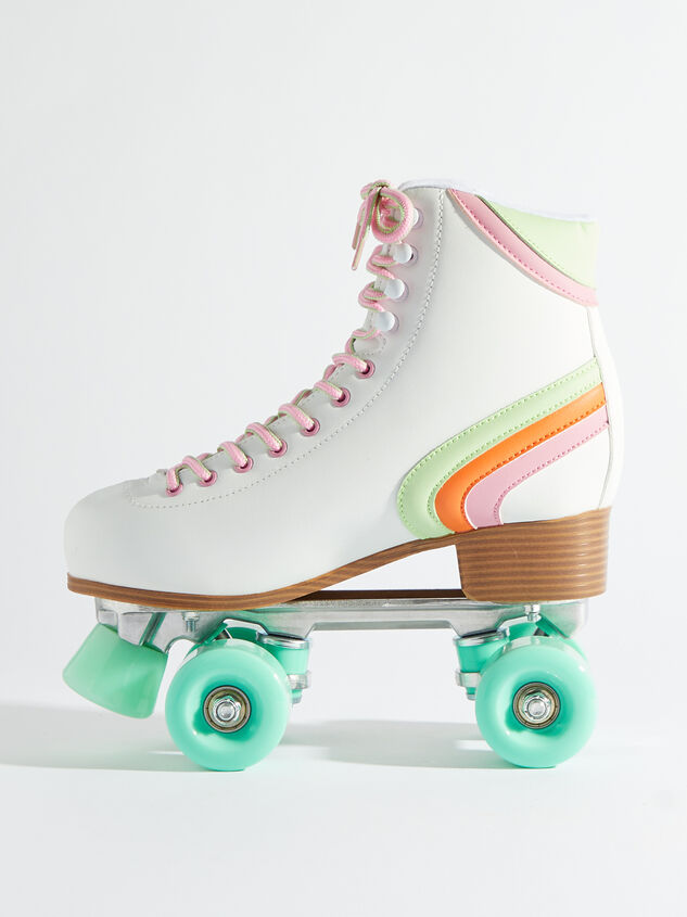Brite Retro Skates - Mint Wheels Detail 3 - Altar'd State