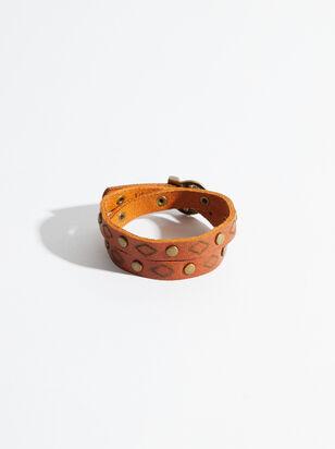 Western Wrap Leather Bracelet - Altar'd State