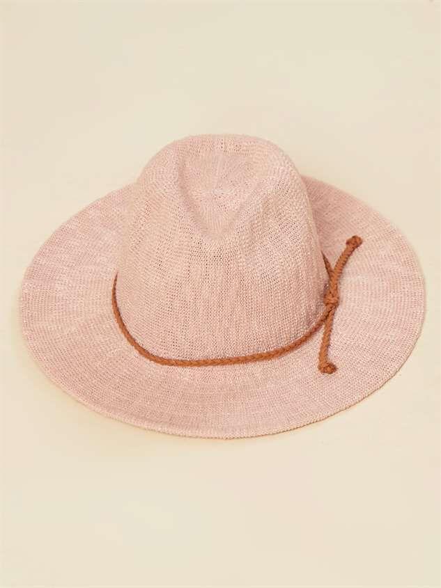 Panama Hat - Blush Detail 1 - Altar'd State