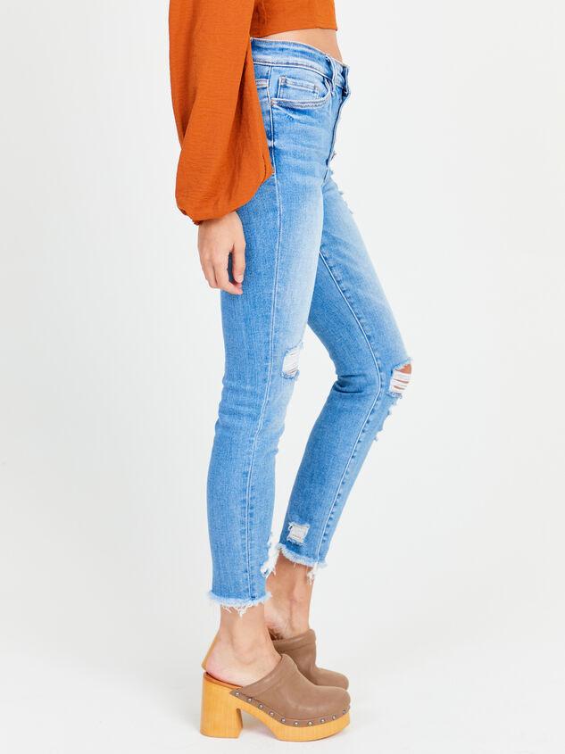 Delilah Skinny Jeans Detail 3 - Altar'd State