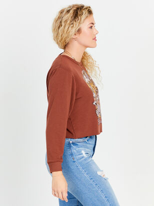 Sunny Days Cropped Sweatshirt - Altar'd State