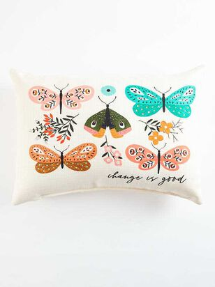 Change is Good Butterfly Pillow - Altar'd State