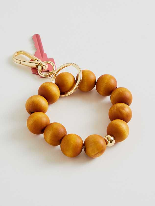 Wooden Bead Keychain - Altar'd State
