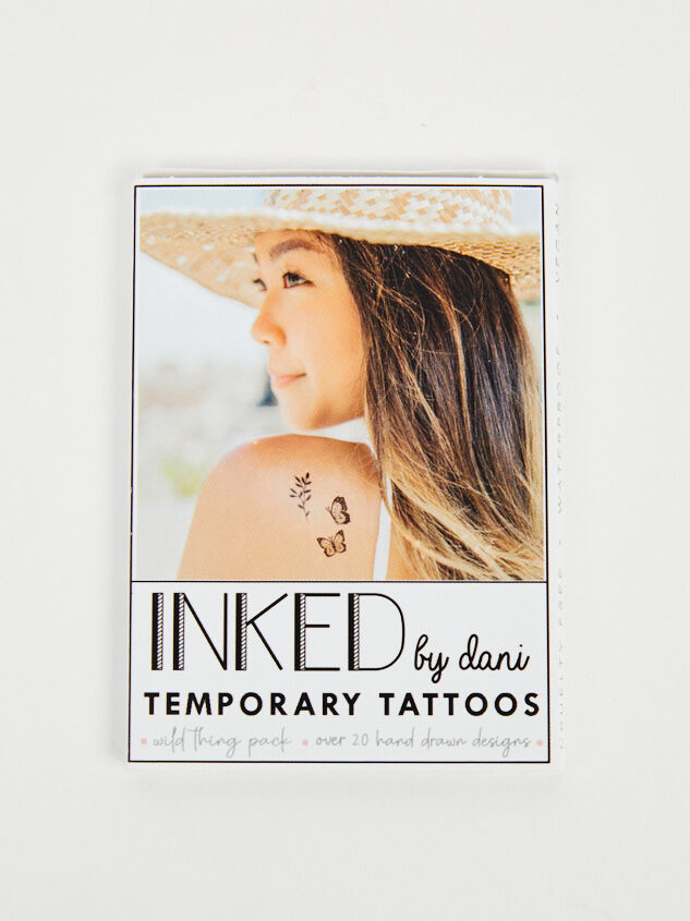 Wild Thing Temporary Tattoo Pack - Altar'd State