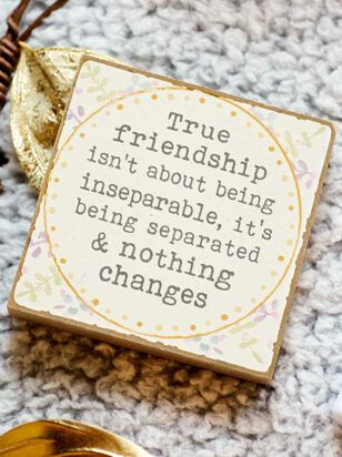 True Friendship Block Sign - Altar'd State