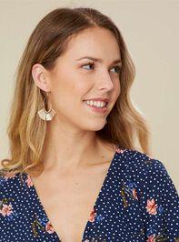 Tickled Tassel Earrings Detail 2 - Altar'd State