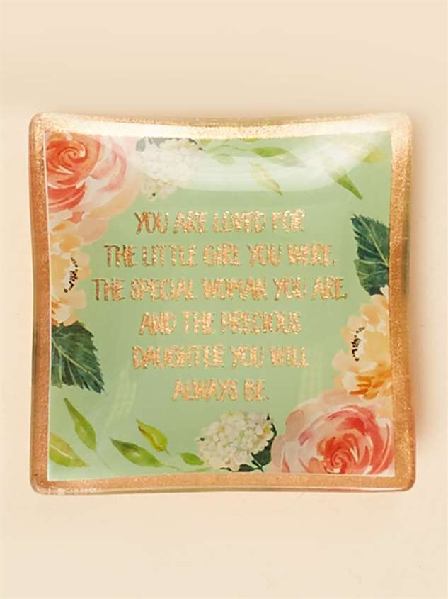 You are Loved Daughter Trinket Dish - Altar'd State
