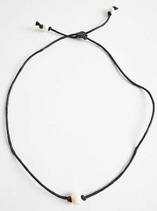 Pearled Choker Necklace - Altar'd State