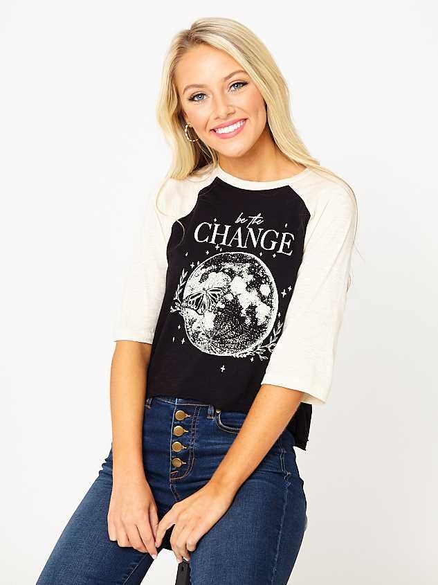 Be The Change Top - Altar'd State