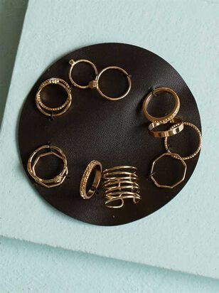 Lovin This Dozen Ring Set - Altar'd State
