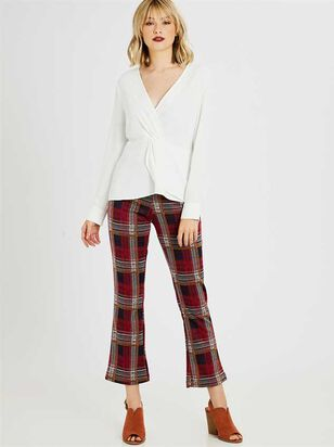 Emerson Plaid Pants - Altar'd State