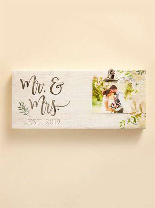 Mr. & Mrs. Est 2019 Clip Frame - Altar'd State