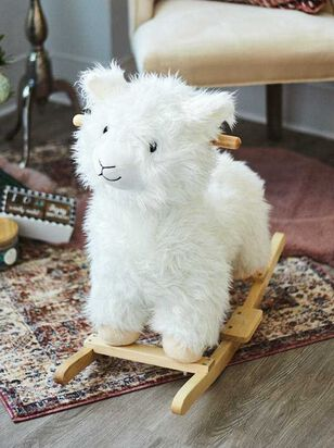 Tullabee Wooden Rocking Llama - Altar'd State