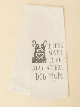 Stay Home Dog Mom Hand Towel - Altar'd State