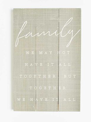 Family Together Wall Art - Altar'd State