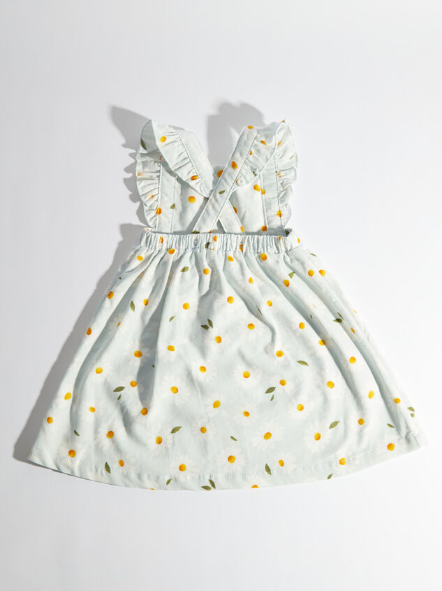 Tullabee Daisy Corduroy Pinafore Dress Detail 3 - Altar'd State