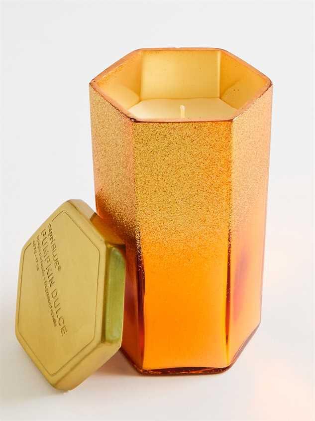 Pumpkin Dulce Hexagon Jar Candle - 17 oz Detail 2 - Altar'd State